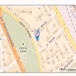 картосхема местоположения