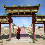 ворота в монастырь Хамрын Хийд