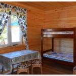 благоустроенный коттедж, комната №2,, 3-4 местный номер