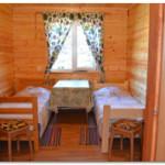благоустроенный коттедж комната №1,  2-х местный номер