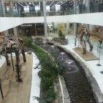 галерея с динозавром в центре