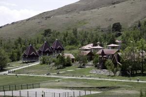 на территории детского лагеря