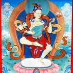 буддийское изображение лика богини Янжимы