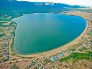 побережье озера Щучье