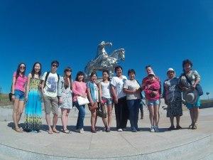статуя Величественного Чингисхана